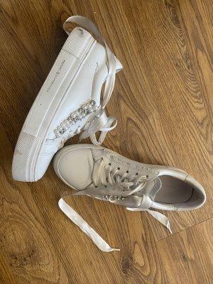 Kennel und Schmenger Heel Sneakers white-silver-colored