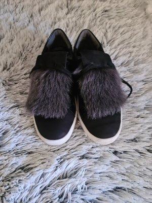 Kennel und Schmenger Sneakers met veters zwart-donkergrijs