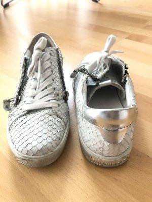 Kennel und Schmenger Sneaker weiß Leder Silber 38