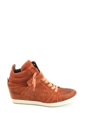 Kennel & Schmenger Sneaker con zeppa marrone stile casual