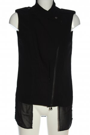 Kenneth Cole Biker Vest black casual look