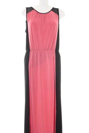 Kenneth Cole Cocktailkleid pink-schwarz Elegant