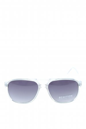 Kenneth Cole Okulary Karée srebrny W stylu casual
