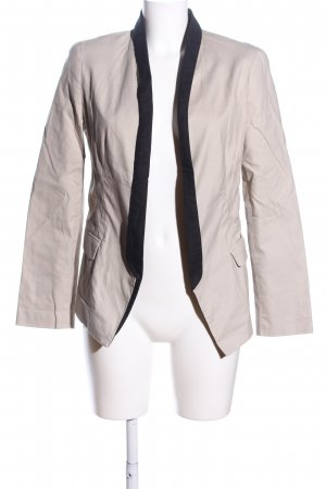 Kenneth Cole Kurz-Blazer creme-schwarz Business-Look