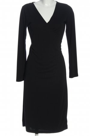 Kenneth Cole Langarmkleid schwarz Casual-Look