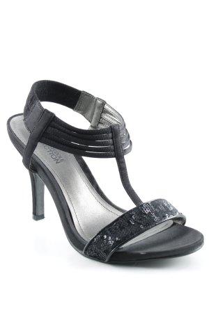 Kenneth Cole Riemchen-Sandaletten schwarz Elegant