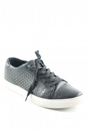 Kenneth Cole Schnürsneaker schwarz Street-Fashion-Look