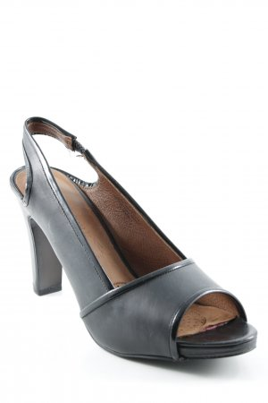 Kenneth Cole Slingback-Pumps schwarz-braun Elegant