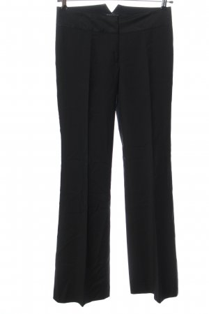 Kenneth Cole Woolen Trousers black casual look