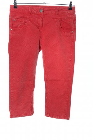 Kenny S. 3/4-Hose rot Casual-Look