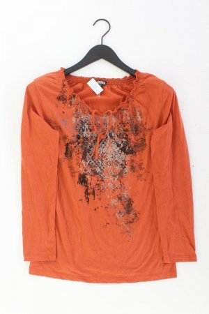 Kenny S. Bluse orange Größe 40