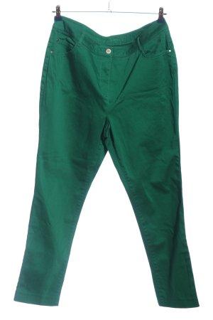Kenny S. Pantalón de cinco bolsillos verde look casual
