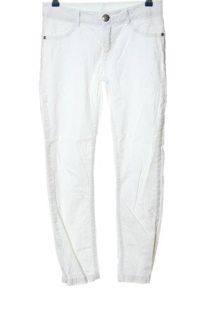 Kenny S. Jeans taille haute blanc style décontracté