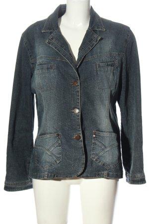 Kenny S. Marynarka jeansowa niebieski W stylu casual