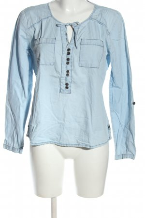 Kenny S. Jeansbluse blau Casual-Look