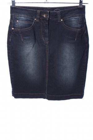 Kenny S. Jeansrock blau Casual-Look