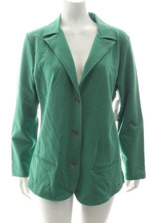 Kenny S. Jerseyblazer grün Casual-Look