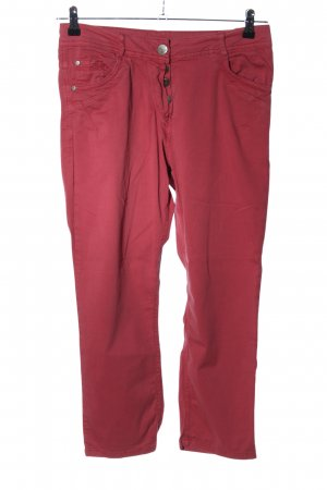 Kenny S. Karottenjeans rot Casual-Look