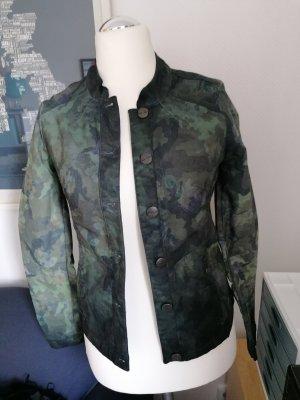 Kenny S Kurze Topmodische Jacke Camouflage Design Gr 36 NEU