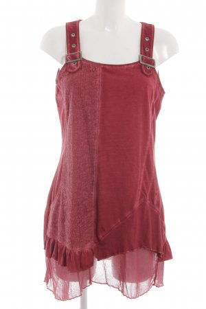 Kenny S. Minikleid rot Casual-Look