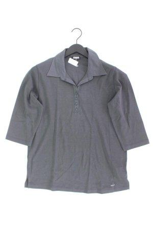 Kenny S. Poloshirt Größe 46 3/4 Ärmel grau aus Baumwolle