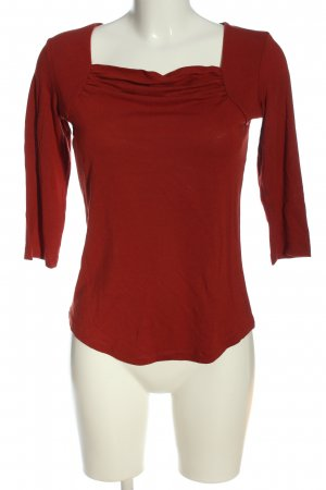 Kenny S. Schlupf-Bluse rot Casual-Look