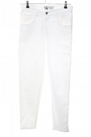 Kenny S. Slim Jeans white casual look