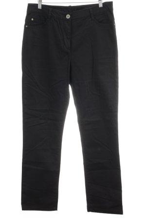 Kenny S. Straight-Leg Jeans schwarz Casual-Look