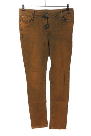 Kenny S. Stretchhose bronzefarben Casual-Look