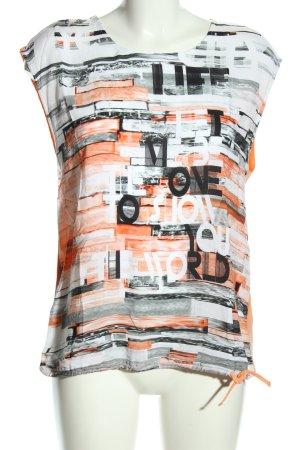 Kenny S. T-Shirt Motivdruck Casual-Look