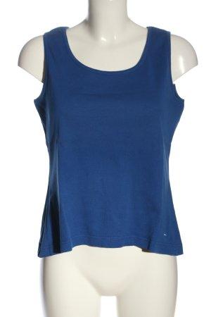 Kenny S. Tanktop blau Casual-Look