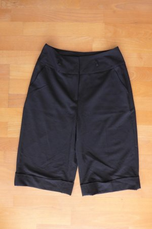 Kensie Hose Shorts Stiefelhose knielang schwarz Gr. 4 XS S 34 36