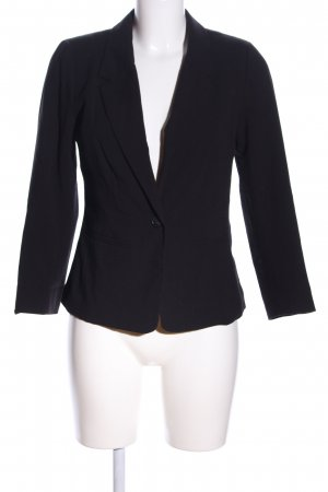 Kensie Jerseyblazer schwarz Business-Look