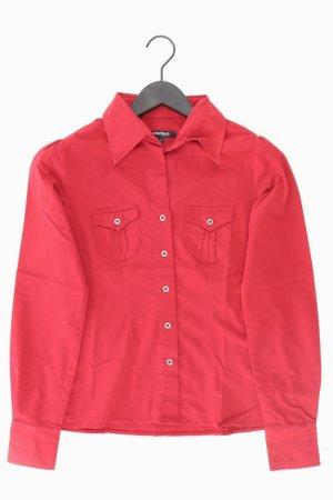 KENVELO Bluse Größe S rot aus Baumwolle