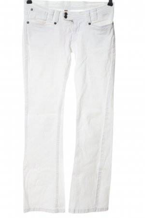 Kenvelo Boot Cut Jeans white casual look