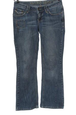 Kenvelo Jeans vita bassa blu stile casual