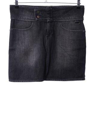 Kenvelo Gonna di jeans nero stile casual