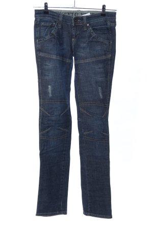 Kenvelo Slim Jeans blau Casual-Look