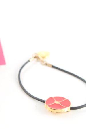 Kenzo Bracelet doré-rouge style décontracté