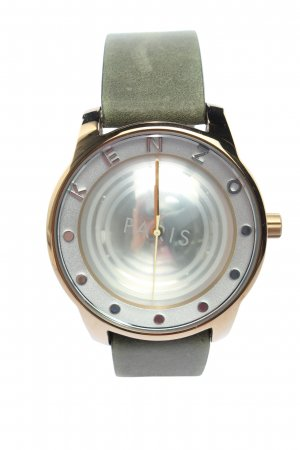 Kenzo Self-Winding Watch khaki business style