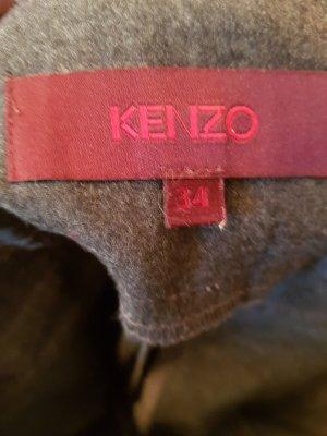 Kenzo Wełniane spodnie szary