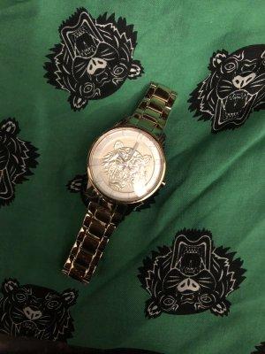 Kenzo Gold Armband Uhr chronograph Paris