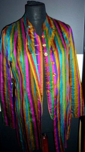 Kenzo Frock Coat multicolored silk