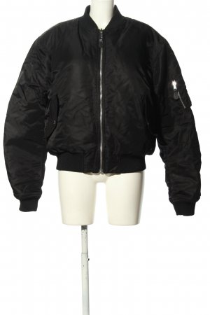 Kenzo H&M Bomberjacke schwarz Casual-Look