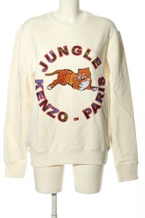 Kenzo H&M Hooded Sweatshirt themed print casual look
