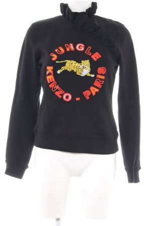 Kenzo H&M Sweatshirt Motivdruck Casual-Look