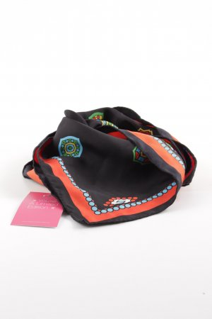 Kenzo H&M Neckerchief abstract pattern casual look
