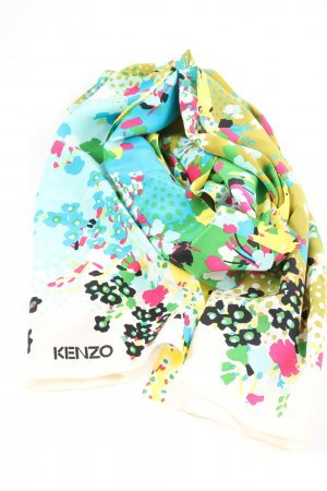 Kenzo Neckerchief abstract pattern casual look