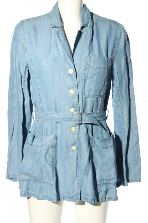 Kenzo Hemd-Bluse blau Casual-Look