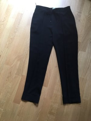 Kenzo High Waist Trousers black silk